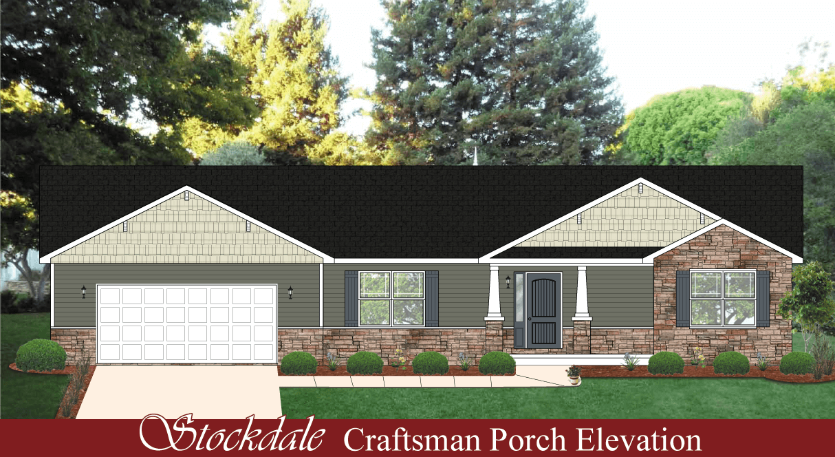 Stockdale hallmark homes indiana 39 s leading on your Indiana home builders on your lot