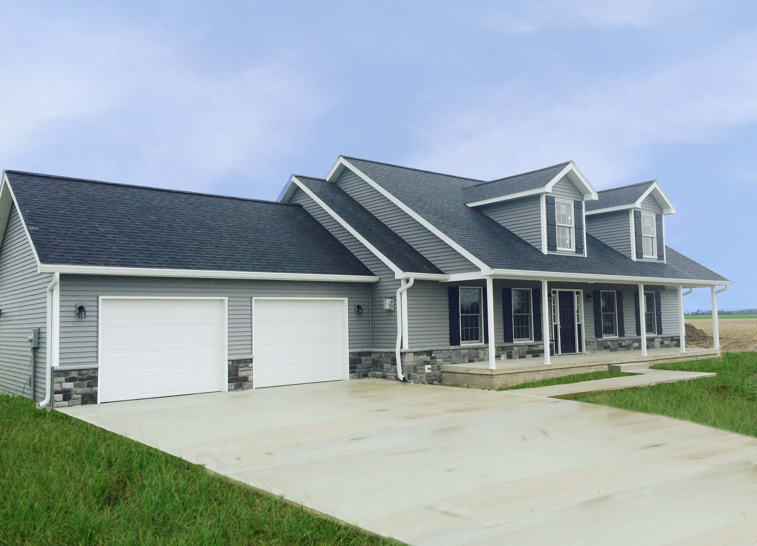 Taylor Kingsport Edited Hallmark Homes Indiana 39 S: indiana home builders on your lot