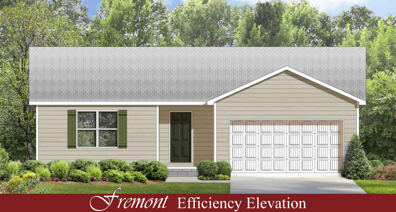 1 Red Efficiency Elevation Hallmark Homes Indiana 39 S