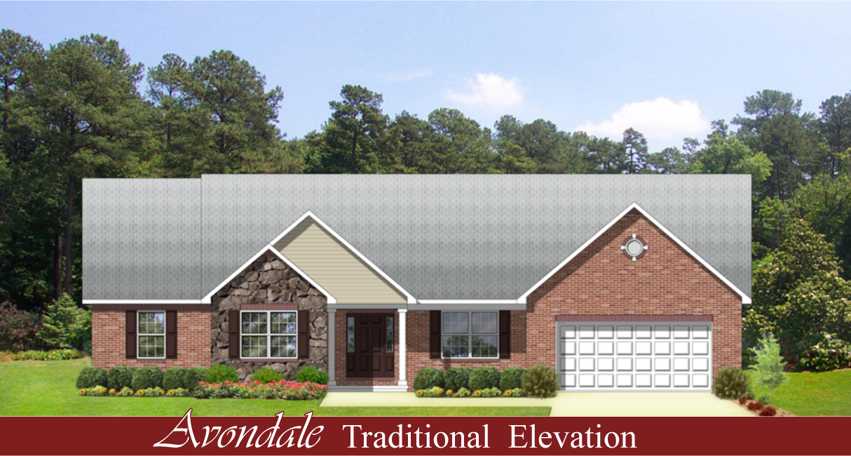 Avondale Hallmark Homes Indiana 39 S Leading On Your Lot