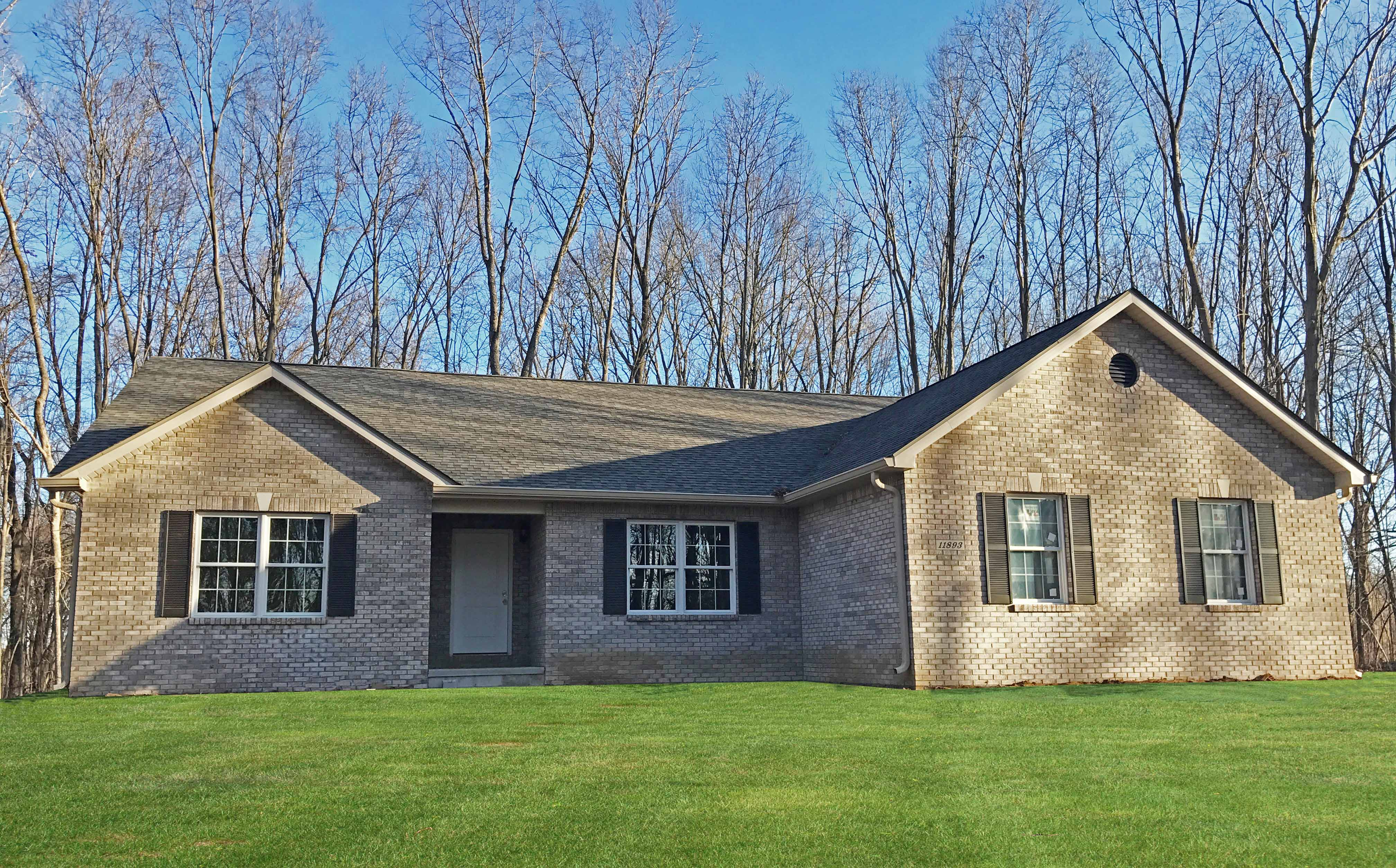 Rodgers remingtonexterior hallmark homes indiana 39 s for Indiana home builders on your lot